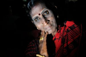 It is rare to see an old hijra.  The HIV infection rate amongst hijras is said to approach fifty percent.
