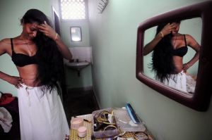 Neither male nor female, the hijras are India's third sex - eunuchs, hermaphrodites and transsexuals.