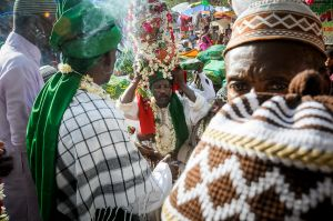 Sidis, Indians of African descent, celebrating the death anniversary of an ancestor saint.