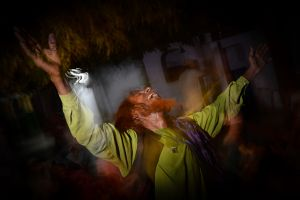 A Sufi dances in ecstasy in Ajmer.