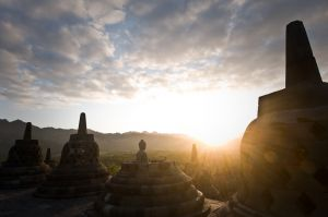 Eleven Hundred Years of Sunsets (Ruins of Buddhist Empire)