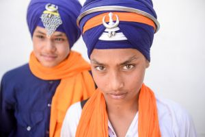 Young Sikhs.