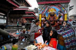 Offerings for the Bhairab