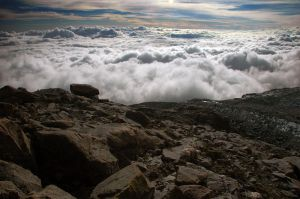 Sea of Clouds in the Cordillera Real