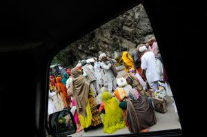 Every spring pilgrims begin arriving in the town of Gaurikund in the Indian Himalaya.  They are among the hundreds of thousands of Hindus who come to participate in one of the largest pilgrimages of the modern era -- a trek to the temple of Shiva at Kedarnath.